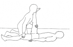 Hamstring partner stretch